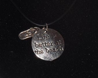 Necklace: Happy Beach