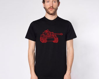 KillerBeeMoto: World War 2 German Tiger I Tank Short & Long Sleeve Shirts