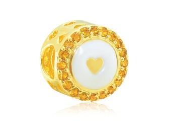 Aurora Italia Forever Mine 18K Gold Charm