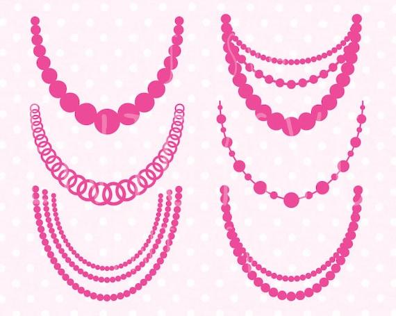 Necklaces svg Pearl necklaces svg Baby Necklace SVG Pearl