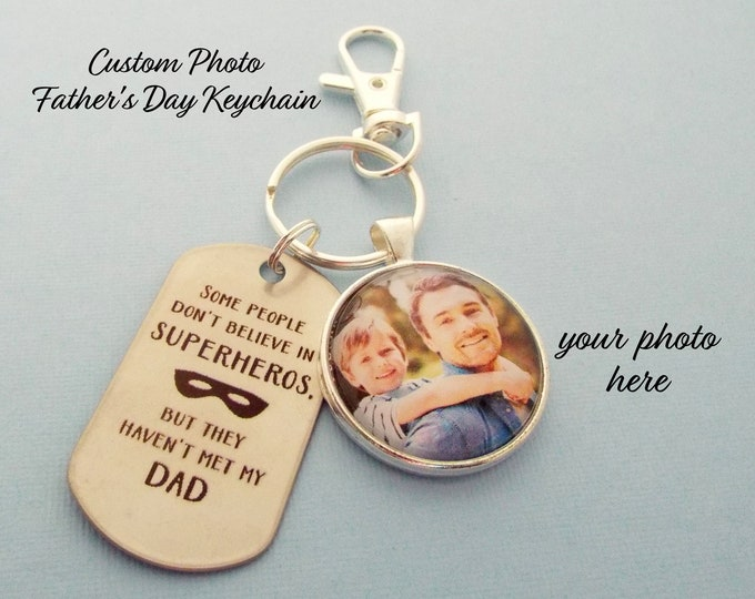 Gift for Father's Day from Child, Custom Photo Father's Day Gift, Dad Gift from Son, Dad Gift from Daughter, Personalized Gift, Gift for Dad