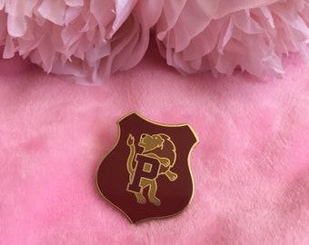 Gryffindor Prefect badge hard enamel pin Hogwarts Harry Potter inspired