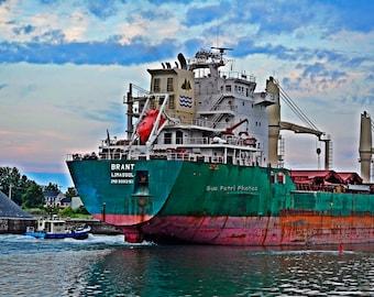 Shipping Photos, Travel Photography, Port Colborne Photos, Welland Canal Photos, Welland Canal Art, Ship Photos, Ship Art, Great Lakes Ships