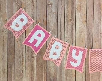 Baby Girl - Its a Girl - Welcome Baby - Custom - Personalized Banner