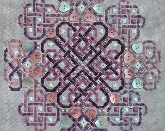 Celtic Valentine PDF Chart - Northern Expressions Needlework