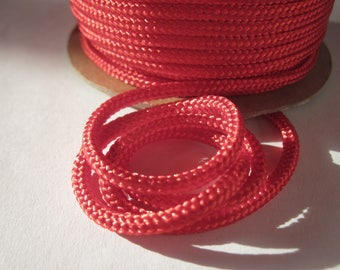 1 meter of cotton yarn braided 3 mm thick (136)