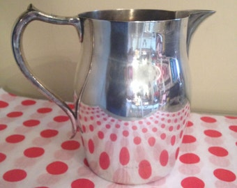 Vintage Walace 2467 Silver/Silver Plate Pitcher