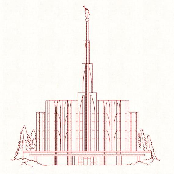 Washington Lds Temple Clip Art - Clipart Library •
