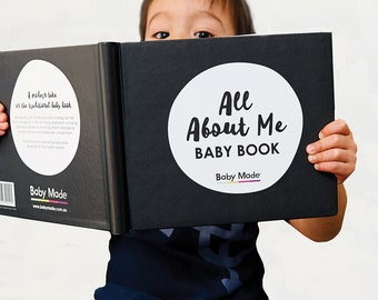 ALL ABOUT ME Baby Memory Book
