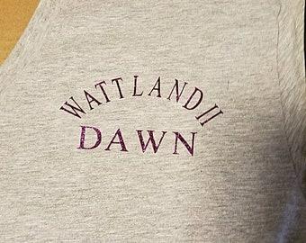 Wattland II custom shirts