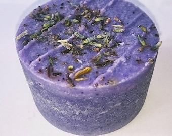 Luxury Lavender Essential Oil Soap Circle With Vitamin E Limited Edition Handmade Vegan Natural Organic Non-GMO 85g/3oz