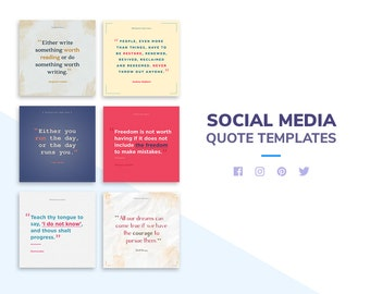 Ovel - Social Media Quote Templates