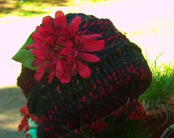 Hat  Pattern  Knitted Toddler to Teen and Adult Toque