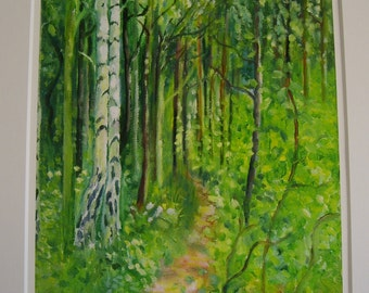 A Walk in the Woods Limited Edition Giclee print