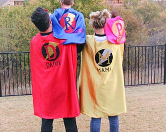SUPERHERO CAPES - Adult Cape - Custom Cape - Adult Super Hero Cape - Superhero Party Favor - Personalized Cape - Super Teacher Cape