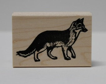 Island Kit Fox rubber stamp