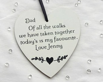 Father of the bride gift from bride, Wedding gift for Father of the bride gift from daughter, Bride gift to dad of all the walks
