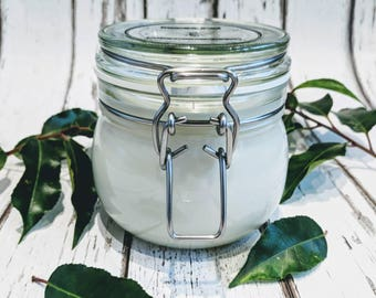 Fresh Coconut Soy Wax 45cl Jar Candle - Natural Candle - Eco-friendly candle - Vegan candle  - Mother's Day - Luxury Gift
