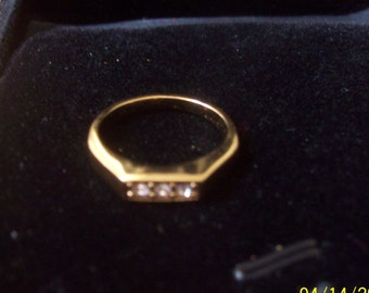 Gold Avon Ring