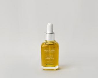 Revitalising face serum| antiaging| dry| normal skin| natural ingredients| organic face oil| face moisturiser