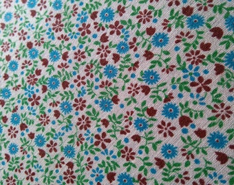 Vintage Flower Cotton 115 cm x 80 cm