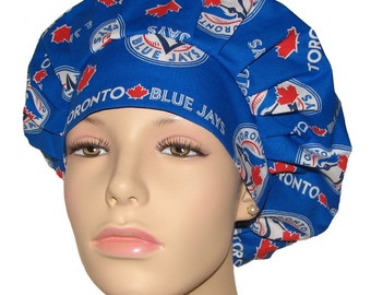 Scrub Hats - Toronto Blue Jays Fabric