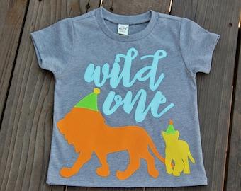 18 Months Wild One Party Animal First Birthday Shirt, Safari Party, Zoo Party Shirt, Party Animal, Wild One Shirt, Lion Party Shirt