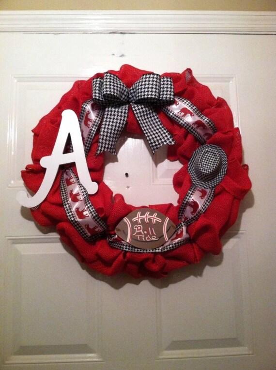 Alabama Crimson Tide - University Of Alabama - SEC Football - SEC - Roll Tide - Alabama Roll Tide- Nick Saban - Collegiate Home Decor - UA
