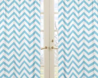 Custom made curtain panels