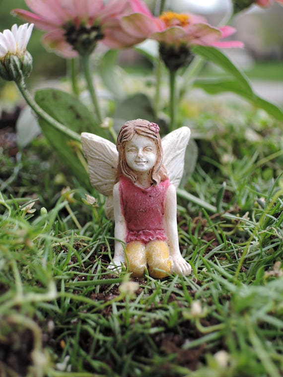 "Itty Bitty Belle Fairy (1.5"" Tall) for the Fairy Garden"
