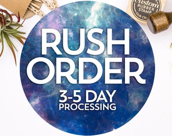 Rush Order Upgrade - U.S./Domestic Orders Only