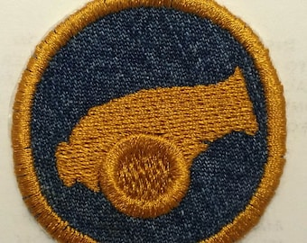 Steampunk Cannon  Iron On Badge or Patch