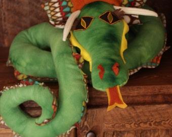 Custom Elde Fleece Long Dragon