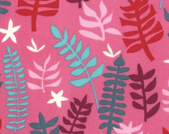 Liz Scott Fabric, Domestic Bliss by Liz Scott for Moda Fabrics, 18074-13 Out of Doors Pink