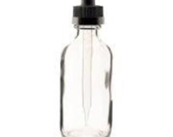 2 Oz Glass Dropper Bottle