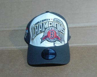 Boston Red Sox 2013 World Series Champions Fitted Baseball Cap - Mens One Size Fits All