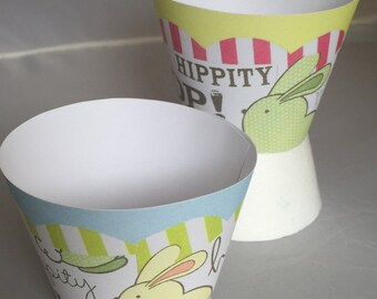 Hippity-Hop Cupcake Wrappers