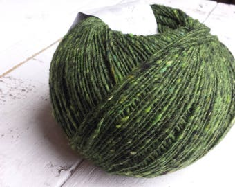 Debbie Bliss Fine Donegal green 54013 Merino Wool and Cashmere