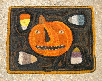 Corny Pete - LINEN Rug Hooking Pattern - from Notforgotten Farm™