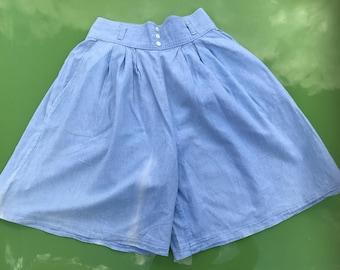 Blue vintage St Michael shorts