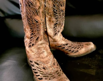 Cowboy corral brand bedazzled boots size 10