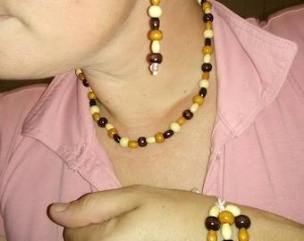 Wood bead set 2