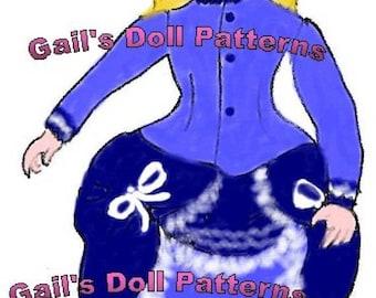 "Copy of Vintage 8"" Kathleen Doll Pattern."