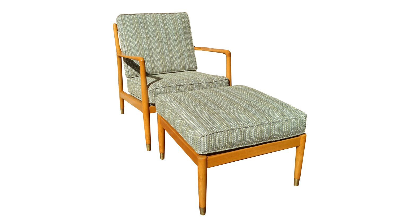 Description. Scandinavian 1950u0027s Folke Ohlsson Dux Lounge Chair ...