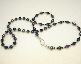 Swarovski crystal pearl necklace: CHARITY DONATION