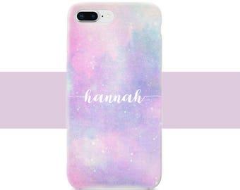 Pink lavender iPhone, iPhone 8 plus Case, iPhone 7 Case, iPhone X Case, iPhone 6 / 6s Case, iPhone 8 Case, Lavender iPhone case, Pastel case