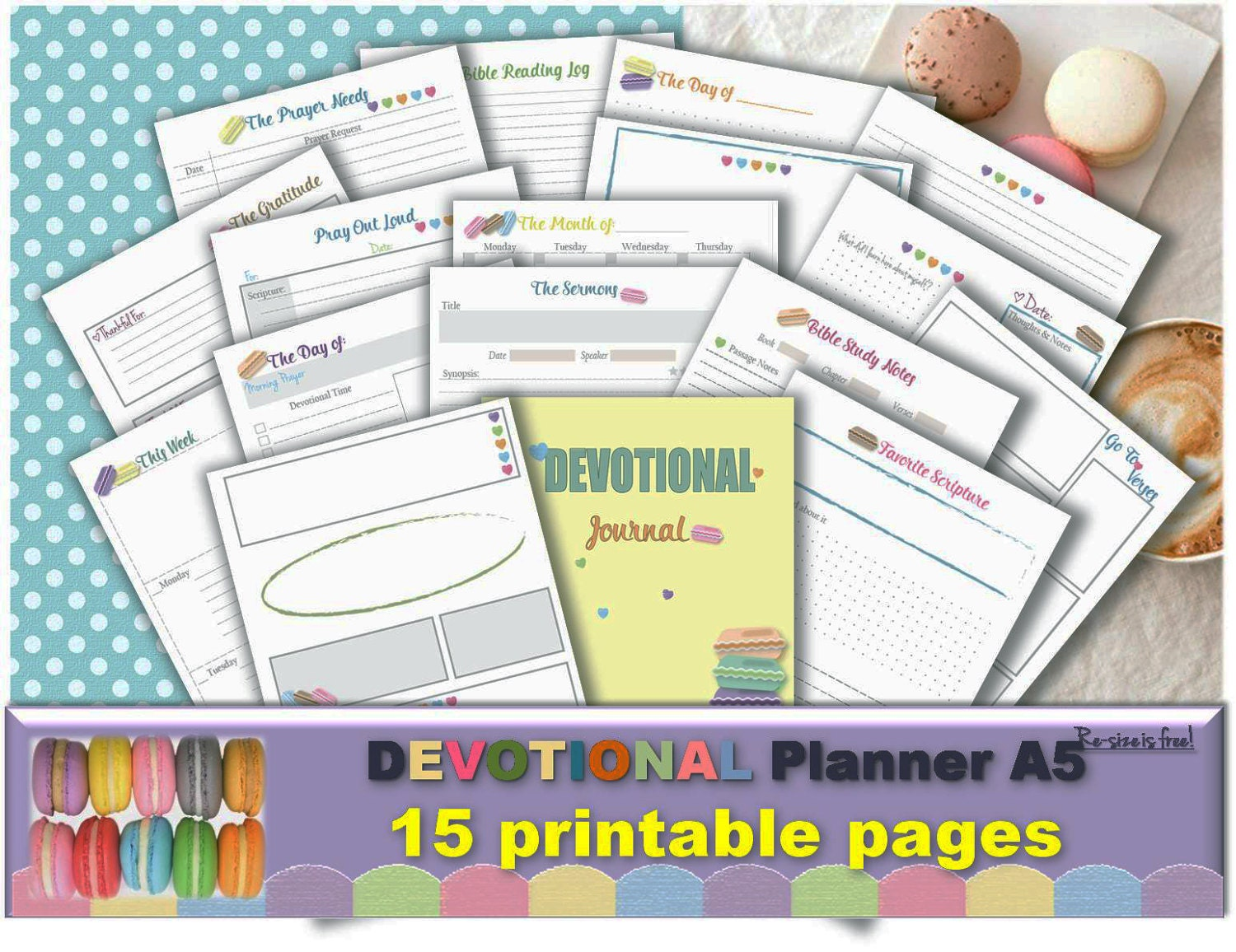 Workbooks prayer workbook : Bible journaling daily study printable templates verses