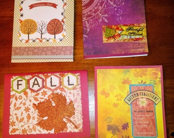 Autumn/Fall Celebration Greetings Pack