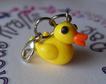 Polymer clay rubber ducky