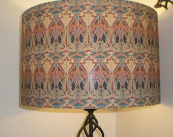 Handmade Lightshade - Liberty Fabric - Ianthe- Bronze